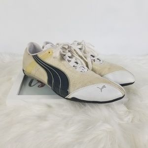 Puma Men's Sz 9.5 Lowtop Driving Laced Sneakers